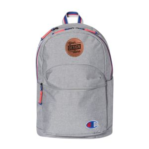 21L Champion Backpack & Leather Patch - Laser Engraved Thumbnail