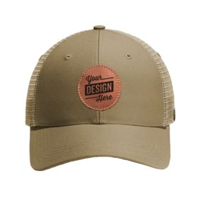 ® Rugged Professional ™ Series Cap & Leather Patch - Laser Engraved Thumbnail