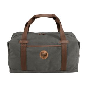 Port Authority ® Cotton Canvas Duffel & Leather Patch - Laser Engraved Thumbnail