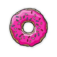 Full Color Print Donut Patch Thumbnail