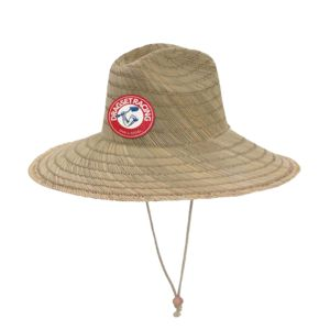 Summer Straw Hat & Full Color Patch Bundle - Your Logo Thumbnail